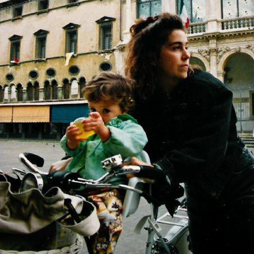 Me and my mum, 1991