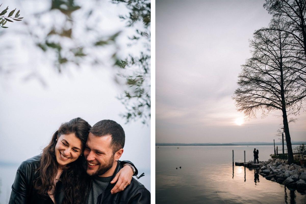 Couple Photos Lake Garda - Engagement Photos Lake Garda