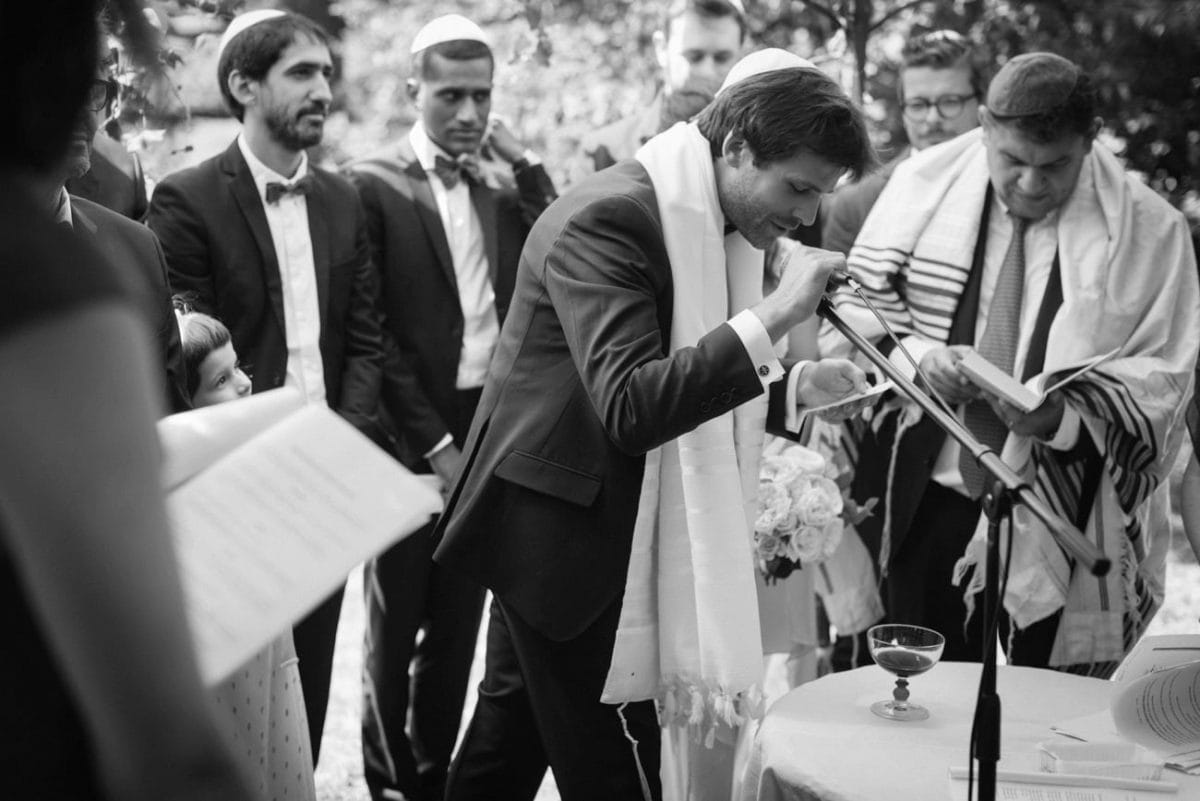Jewish Wedding Italy- Destination Wedding France - Catholic Jewish Wedding France