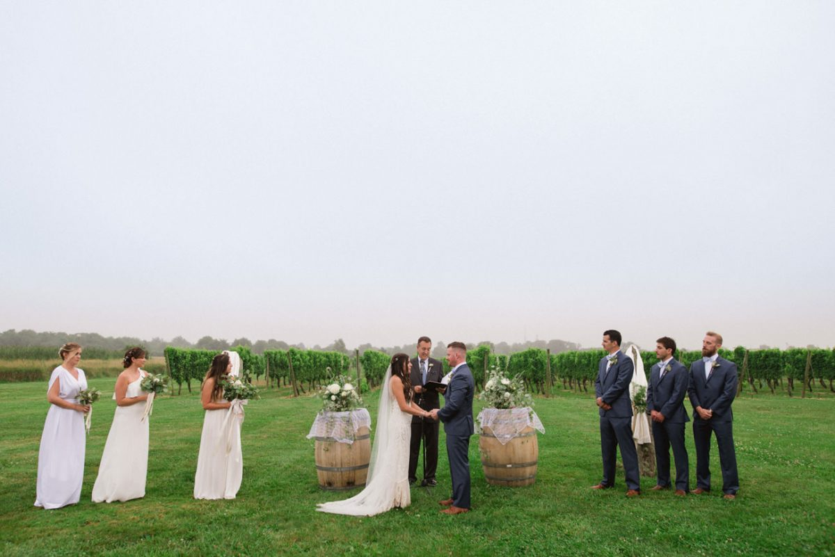 Destination Wedding Photographer Rhode Island - Wedding Newport Vineyards