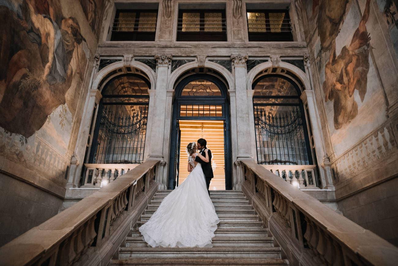 Elopement Photographer Venice - Wedding Photographer Venice - Wedding Ca Sagredo