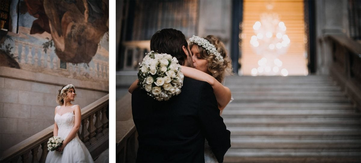 Elopement in Venice - Wedding Photographer Venice - Wedding Ca Sagredo