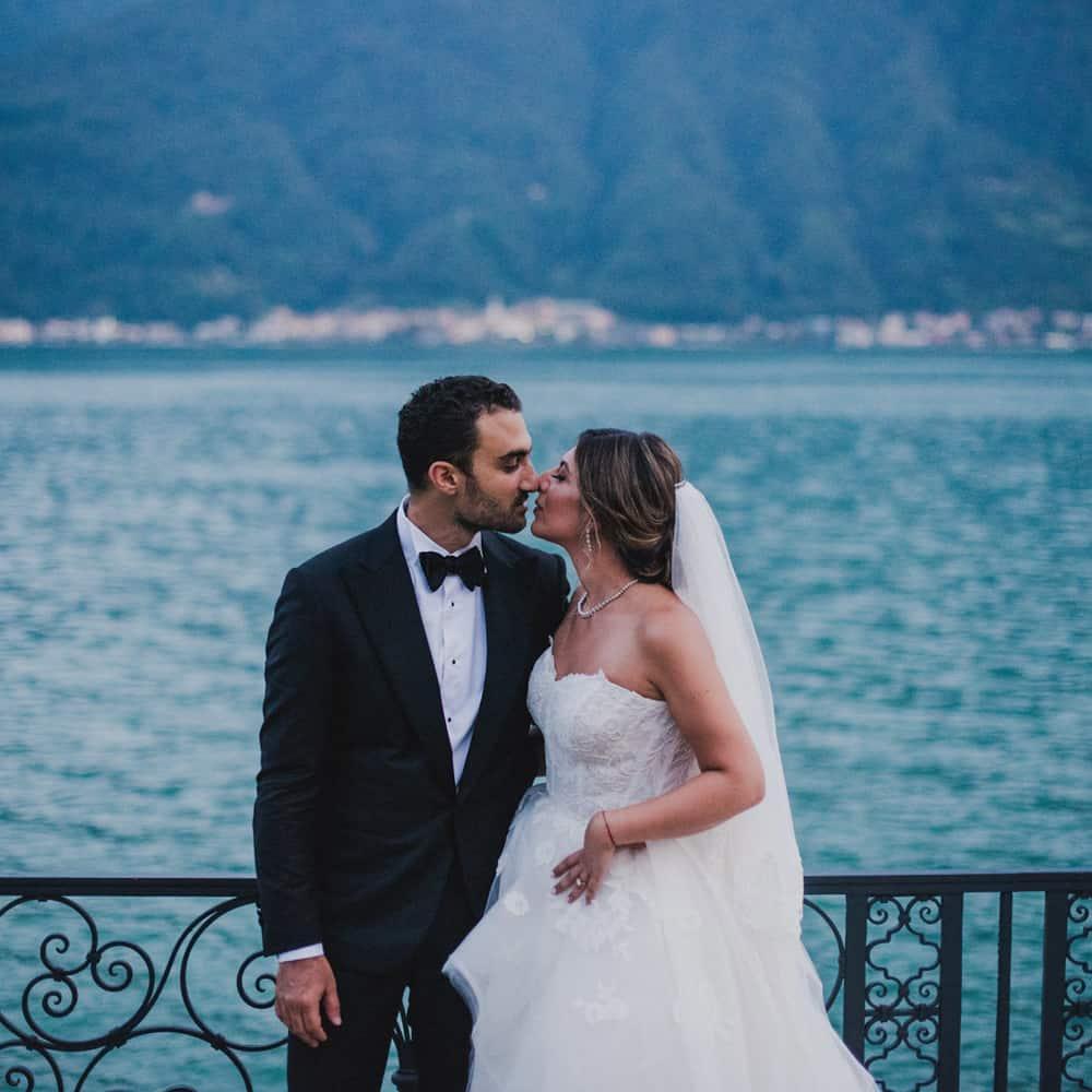 Persian Wedding in Lake Como