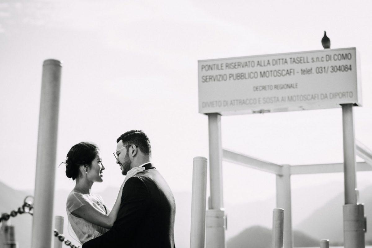 Prewedding in Lake Como - Couple Photographer Bellagio