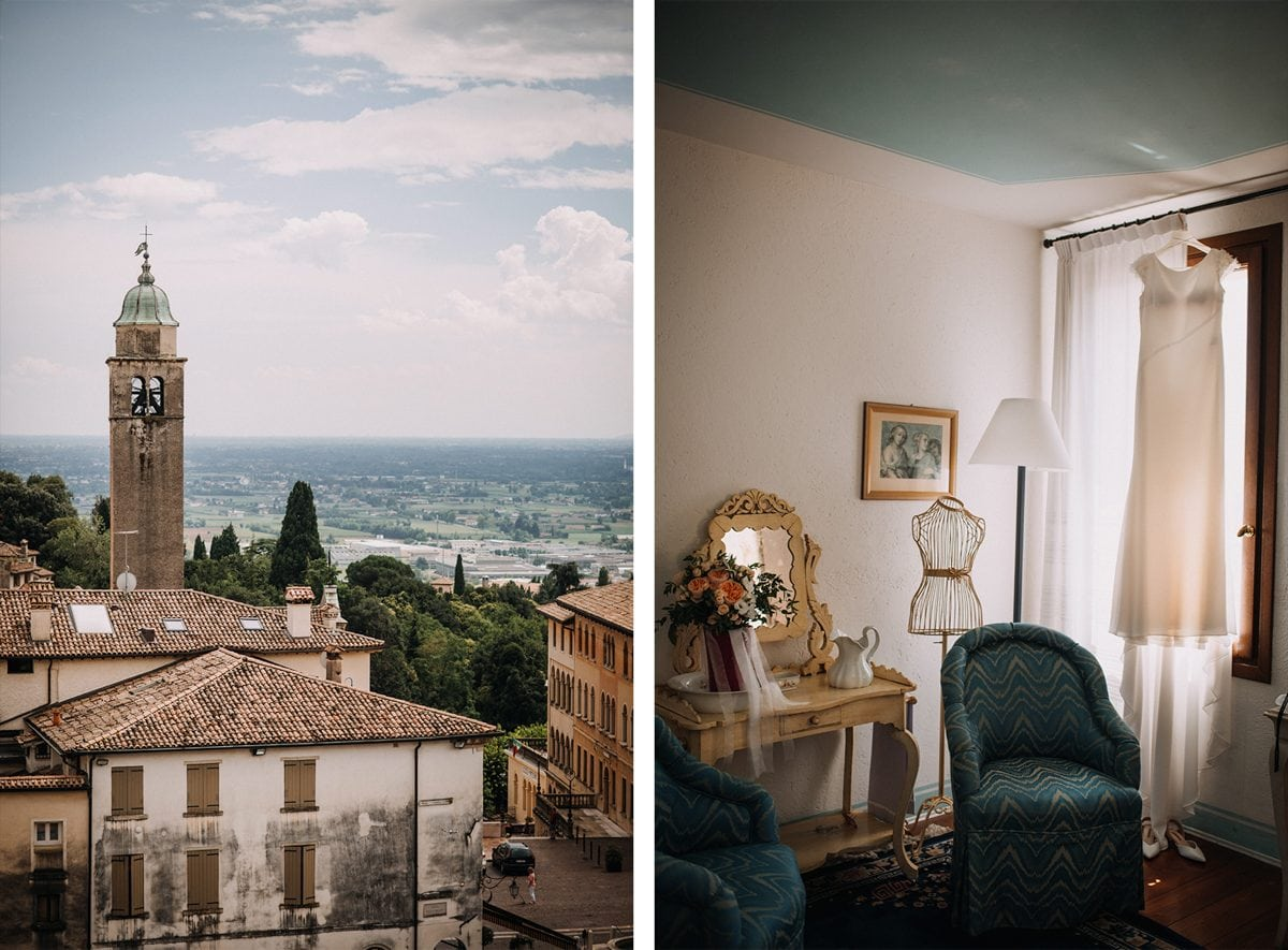 Boho Wedding in Italy - Wedding Photographer Italy - Wedding in Treviso