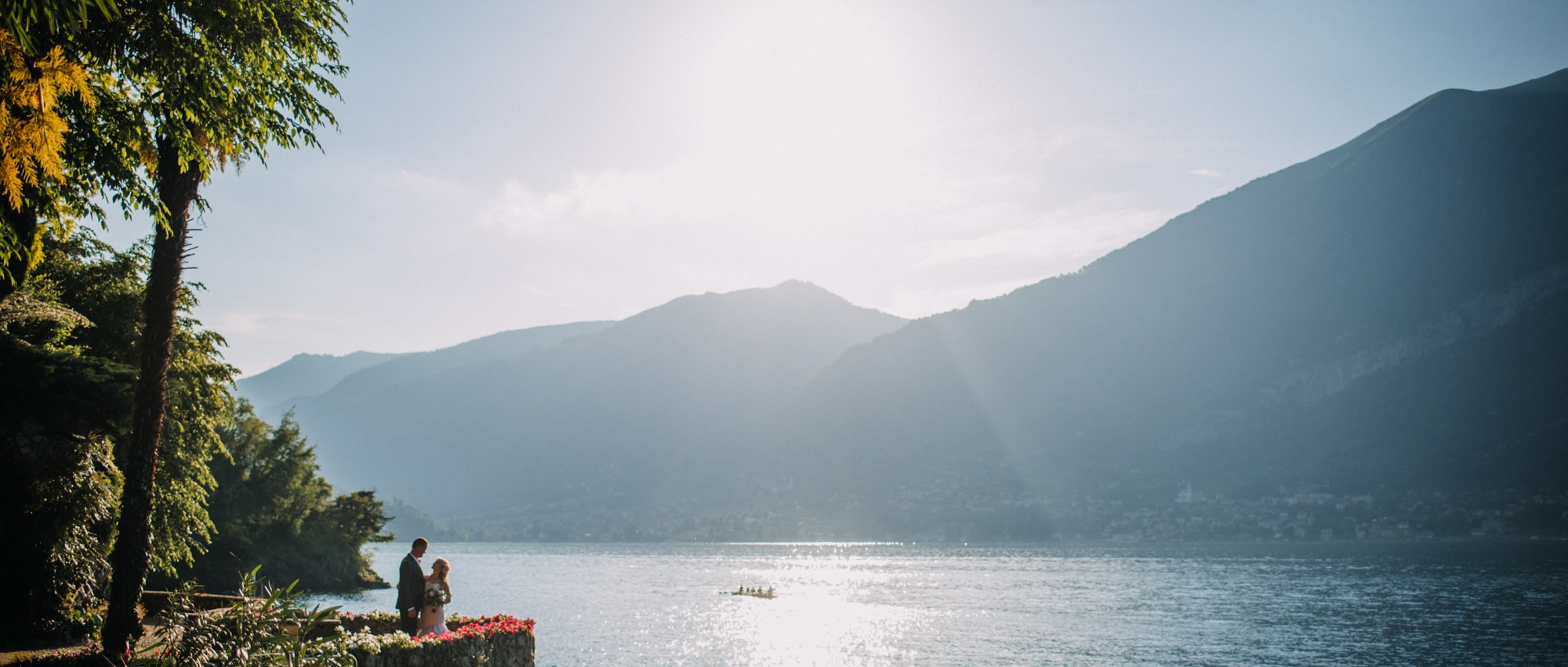 Sunsets & The Lake / Wedding at Villa Orlando Bellagio