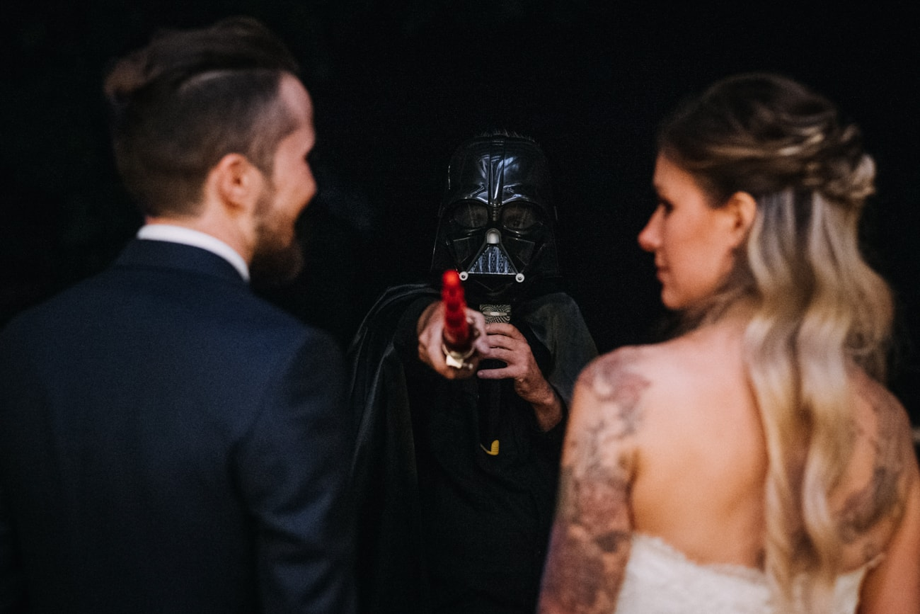 Star Wars Wedding in Italy