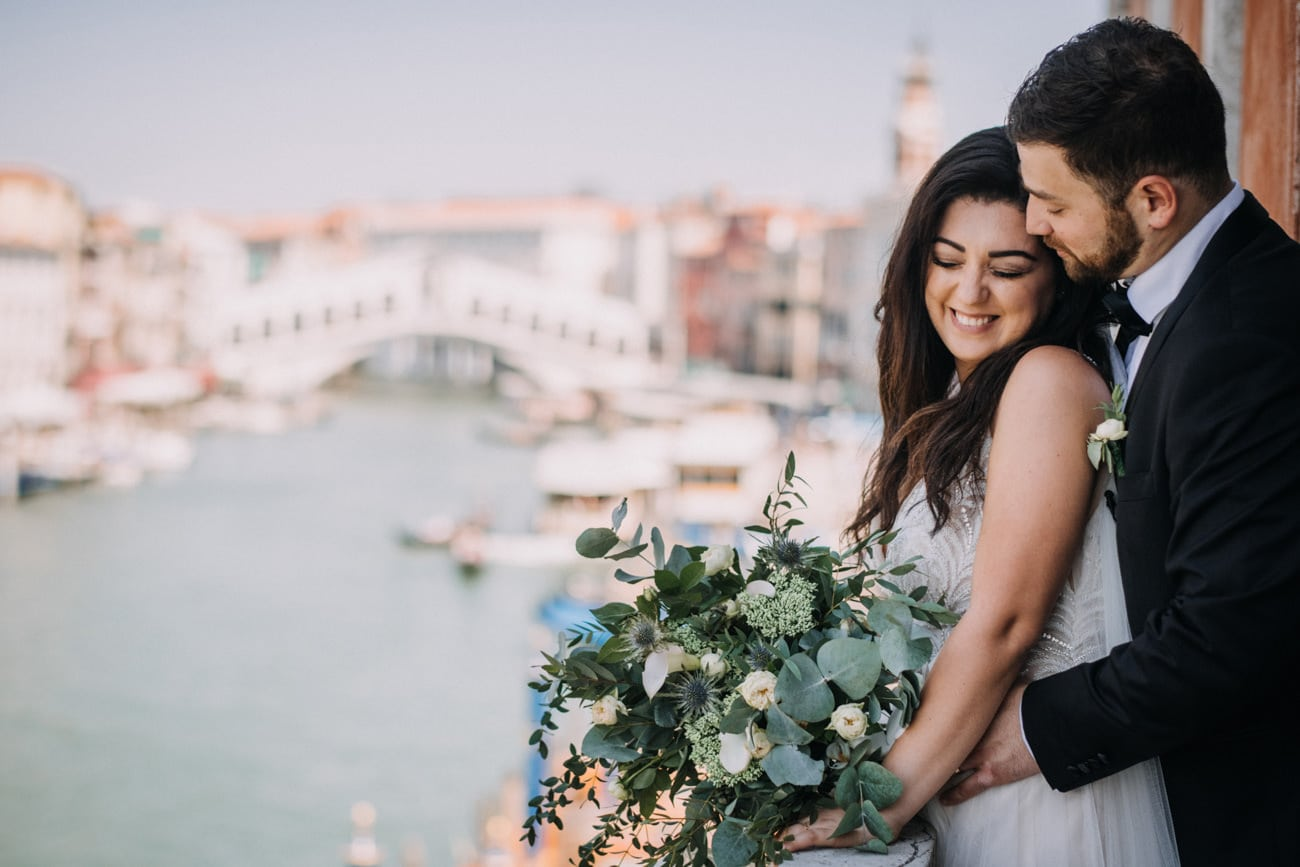Intimate Wedding in Venice - Wedding Photographer Venice