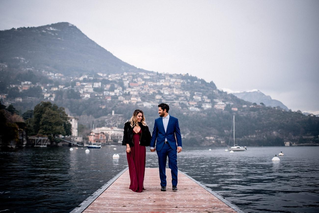 Engagement Session Lake Como