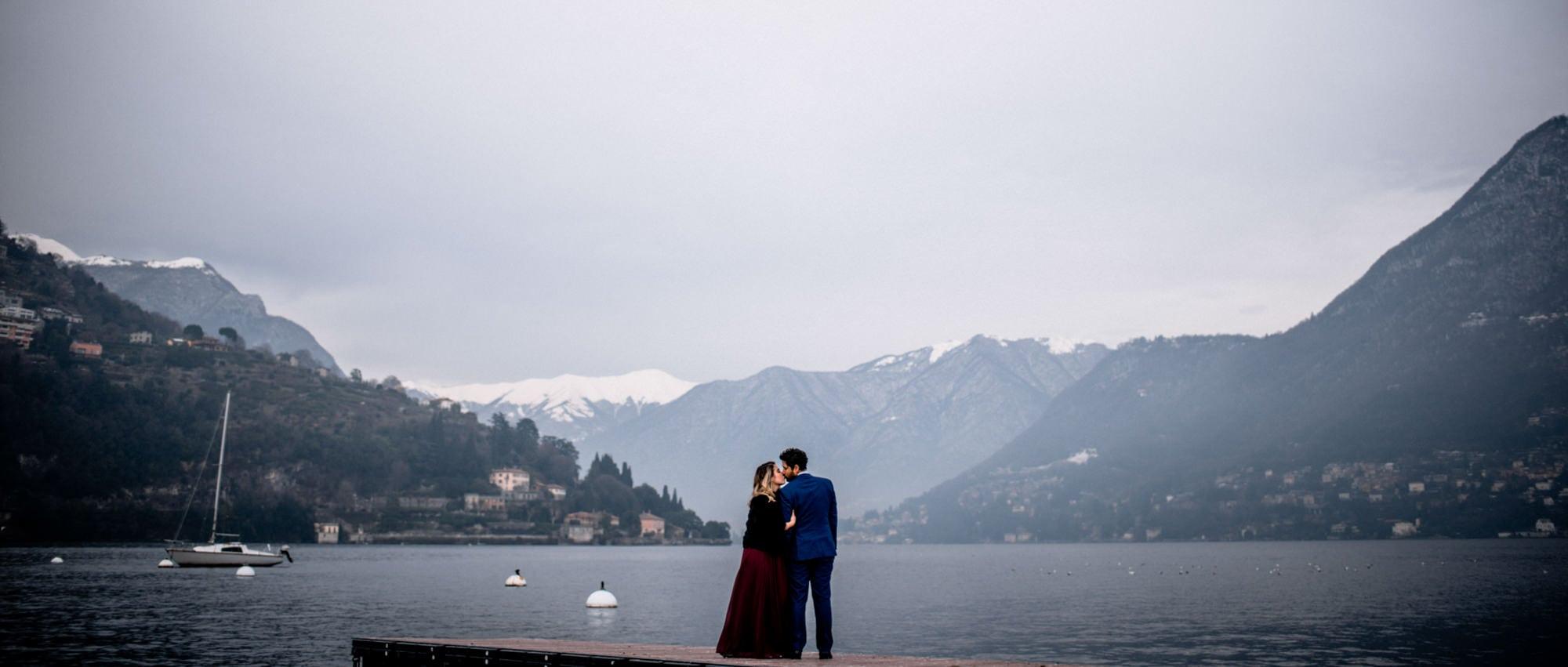 Couple Photographer Lake Como