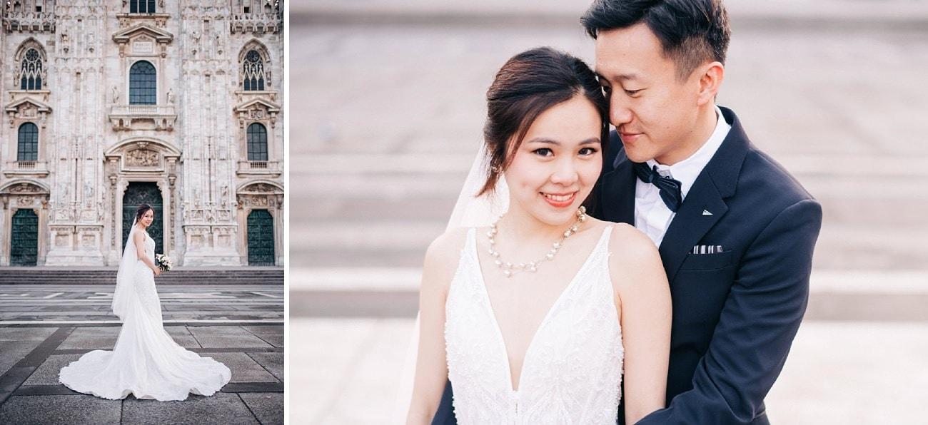 Prewedding in Milan