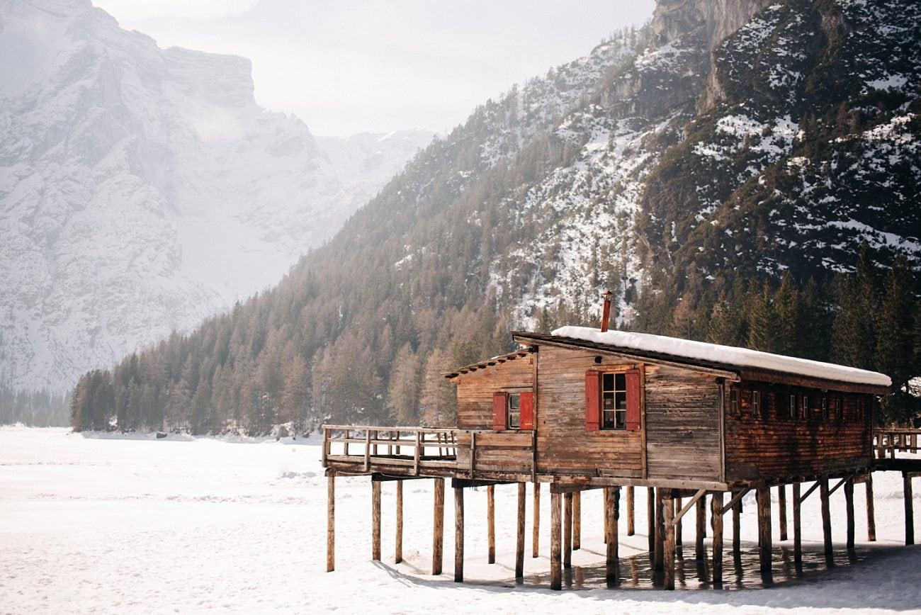Elopement in Lake Braies