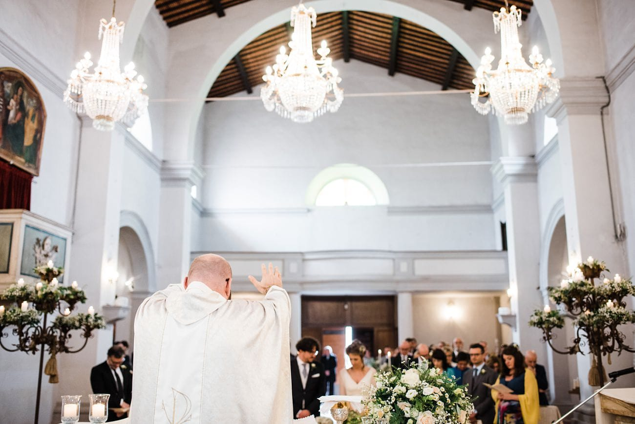 Catholic Wedding in Tuscany