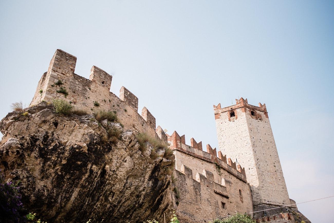 Wedding in the Castle of Malcesine
