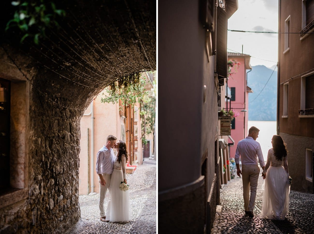 Wedding in the Castle of Malcesine