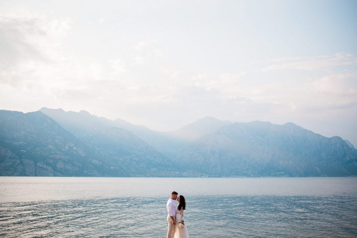 Elopement in Lake Garda