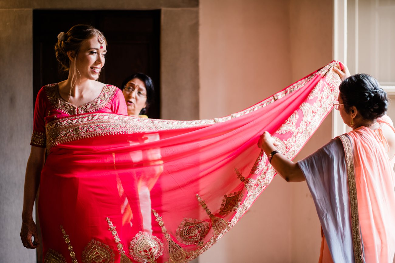 Indian Wedding in the Tuscan Countryside